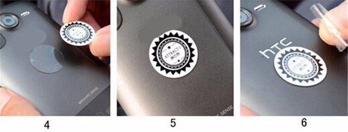 Návod na instalaci magnetického držáku - instalace destičky na mobil 2