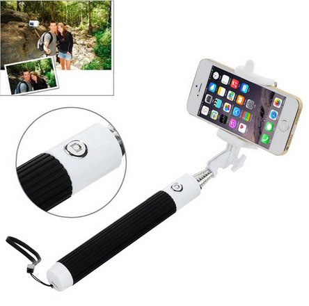 Selfie tyč s jackem